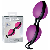 Boules Joyball Secret rose et noir