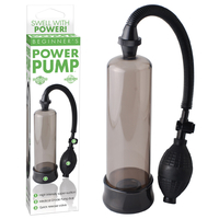 Développeur de pénis Beginners Power Pump Noir