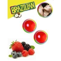 Boules Brésiliennes aromatisées Fruits des bois par 2
