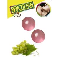 Boules Brésiliennes aromatisées Raisin par 2