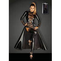 Long Manteau Powerwetlook Divalicious F128C