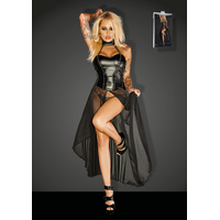 Robe Longue Powerwetlook Gun F139