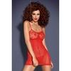 Robe rouge D204 - L-XL
