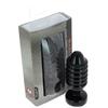 Plug anal noir 15 cm x 5,3 - Fabriqué en France
