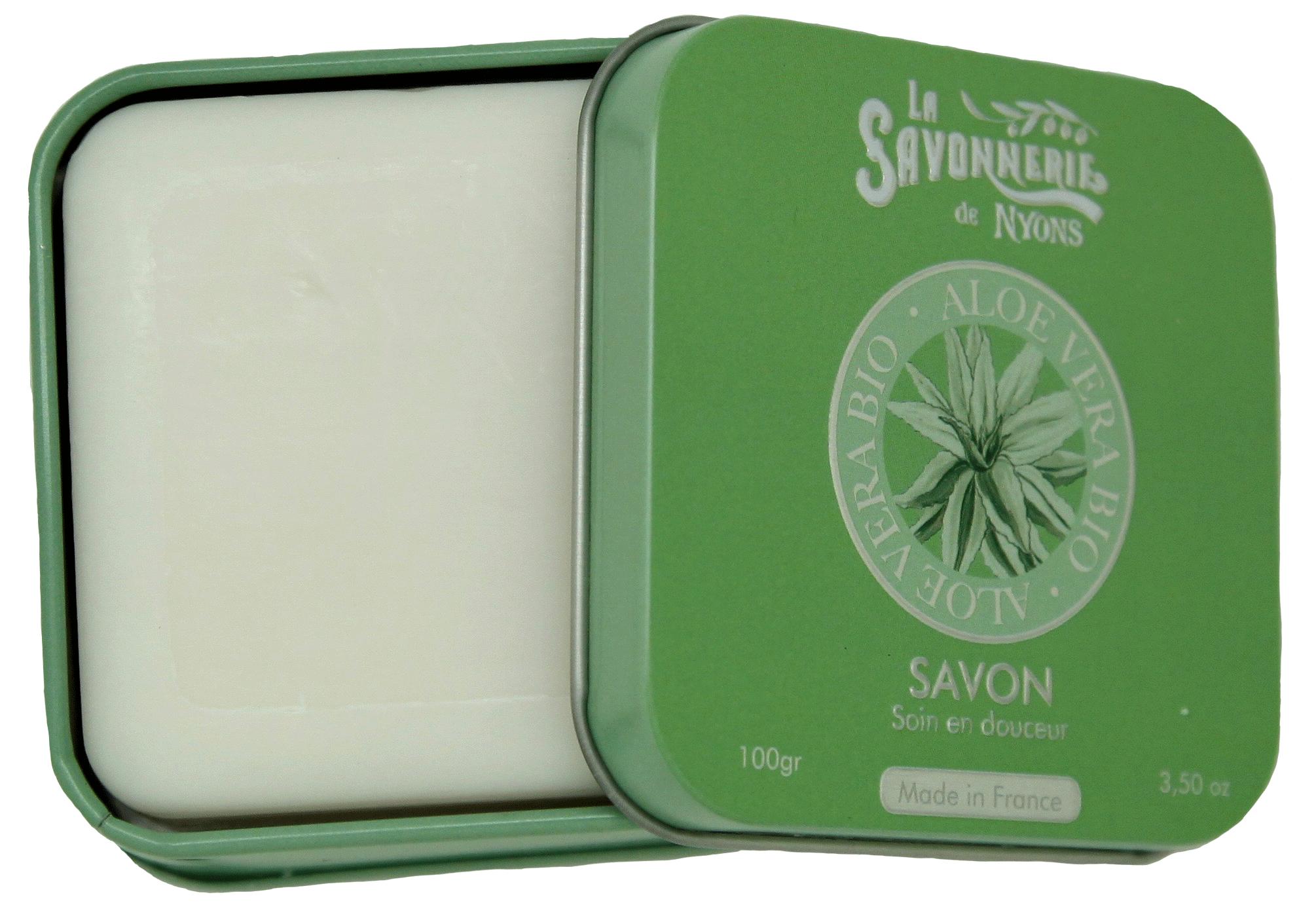 Boîte Métal 100g Aloe Vera BIO