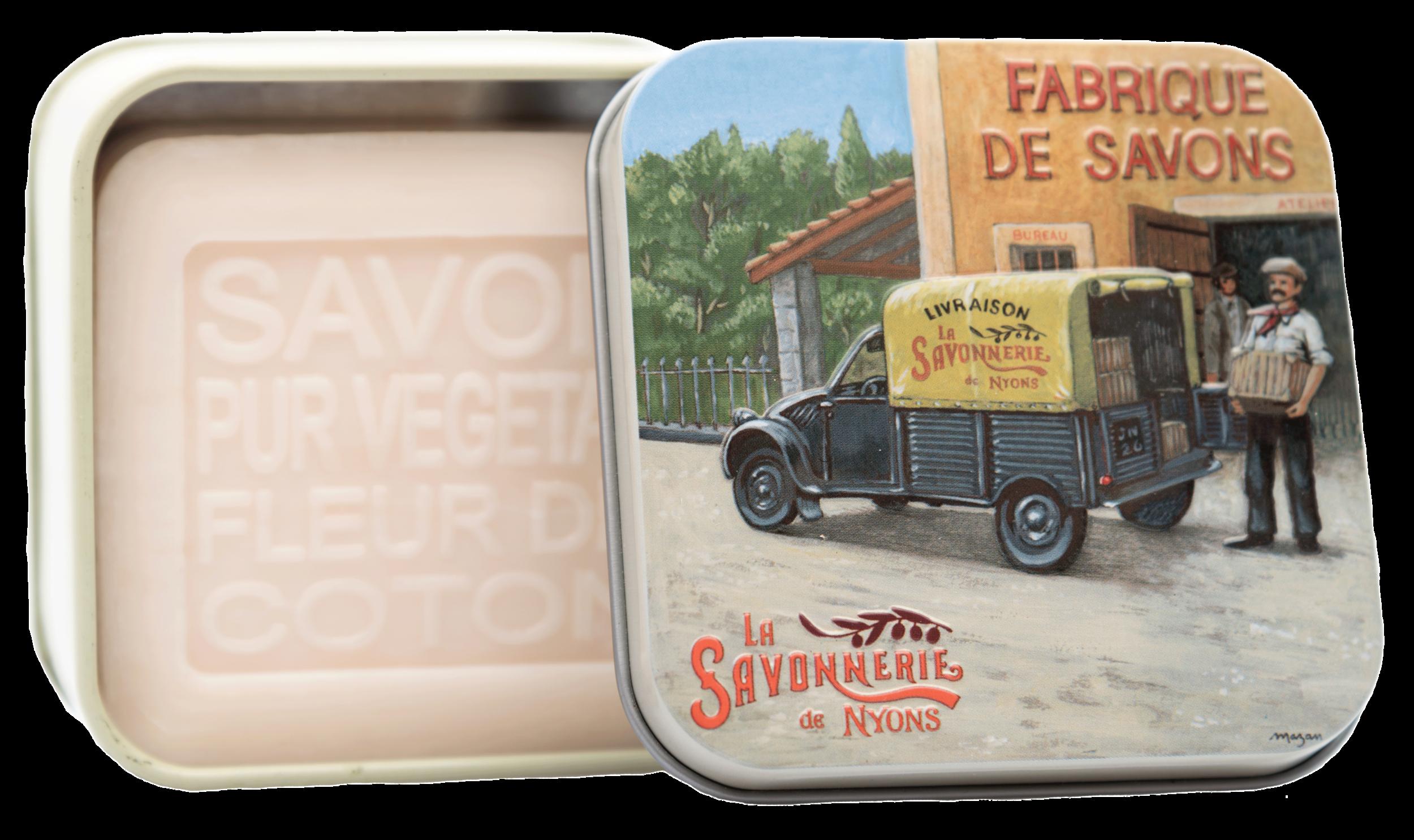 Boite Métal Fourgonnette & Savon 100 g