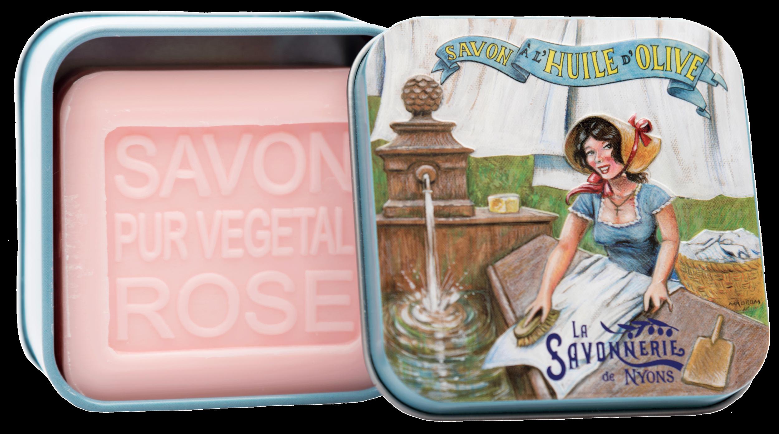 Boite Métal Lavandière & Savon 100 g