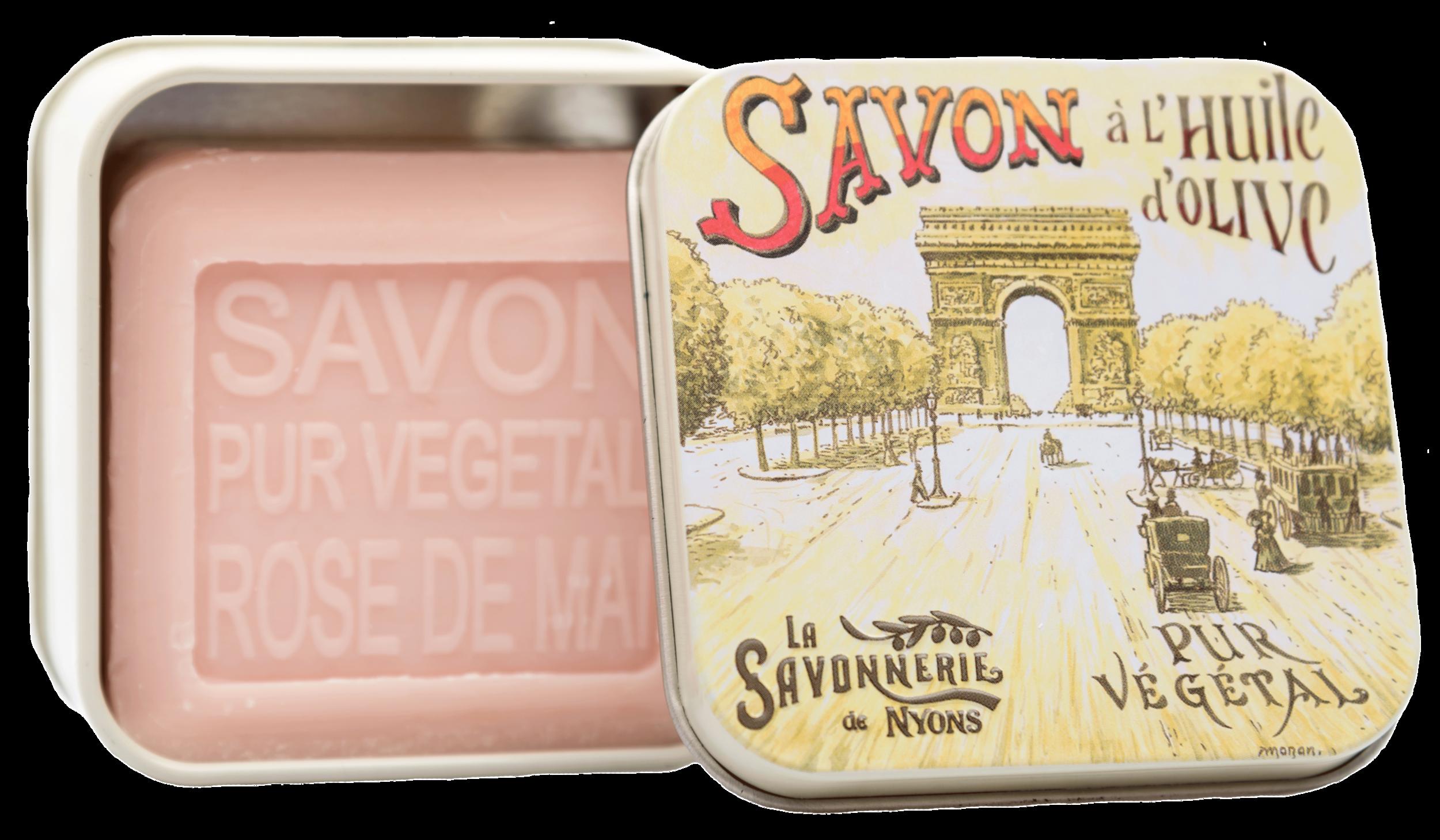 Boite Métal 100 g Les Champs Elysées