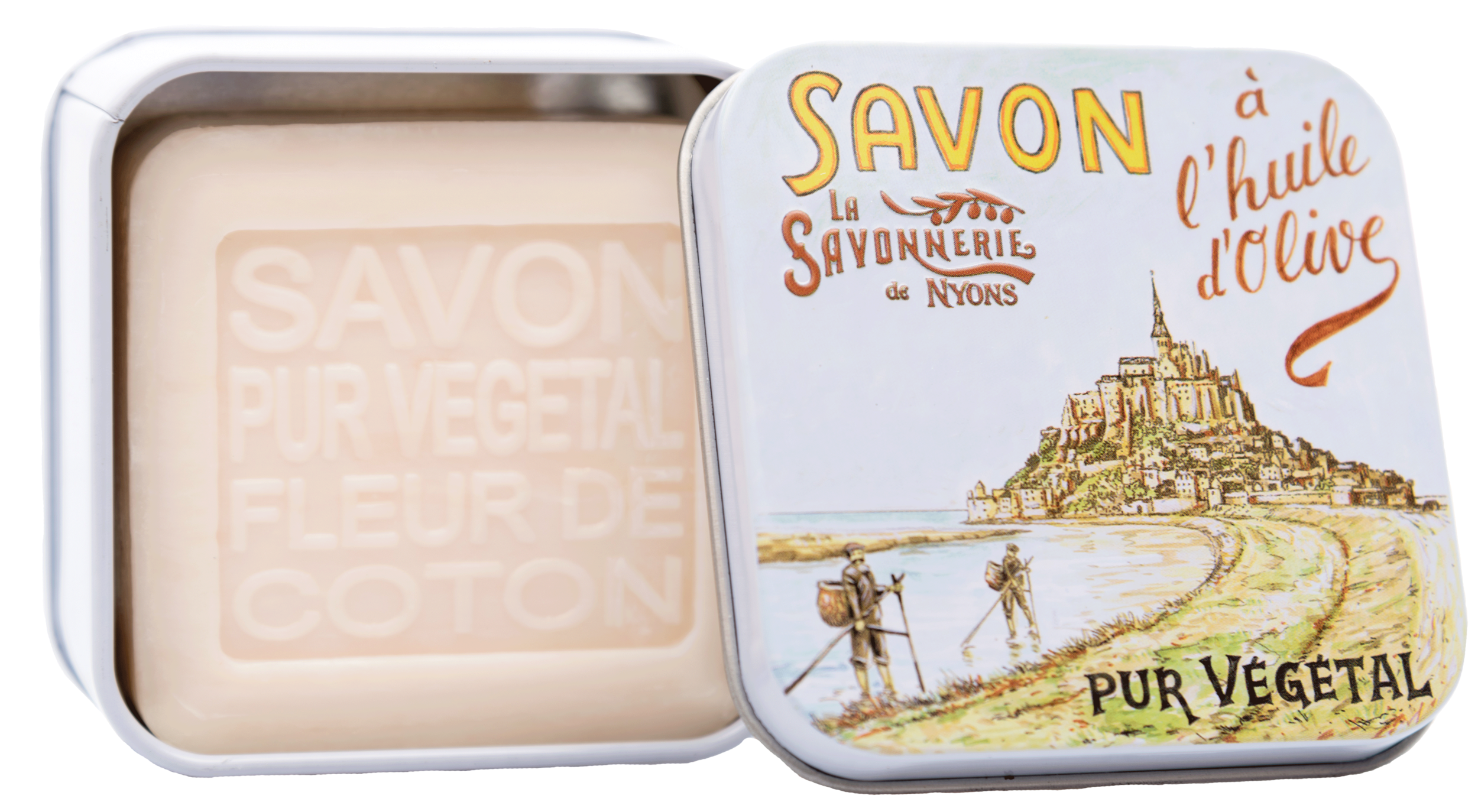 Boite Métal Le Mont-Saint-Michel & Savon 100g