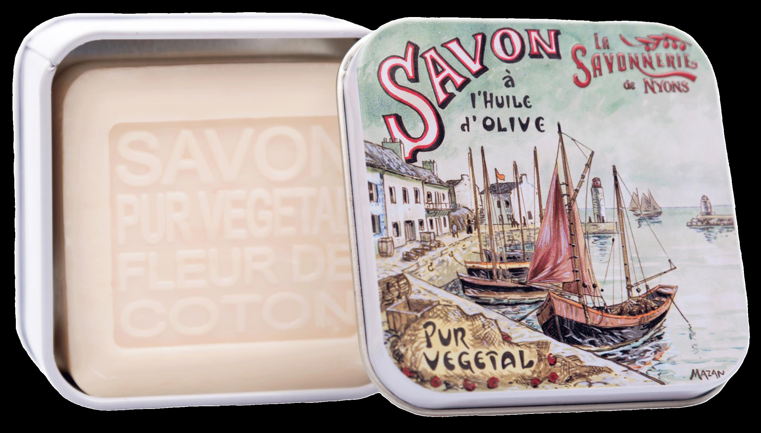 Boite Métal Le Port & Savon 100 g