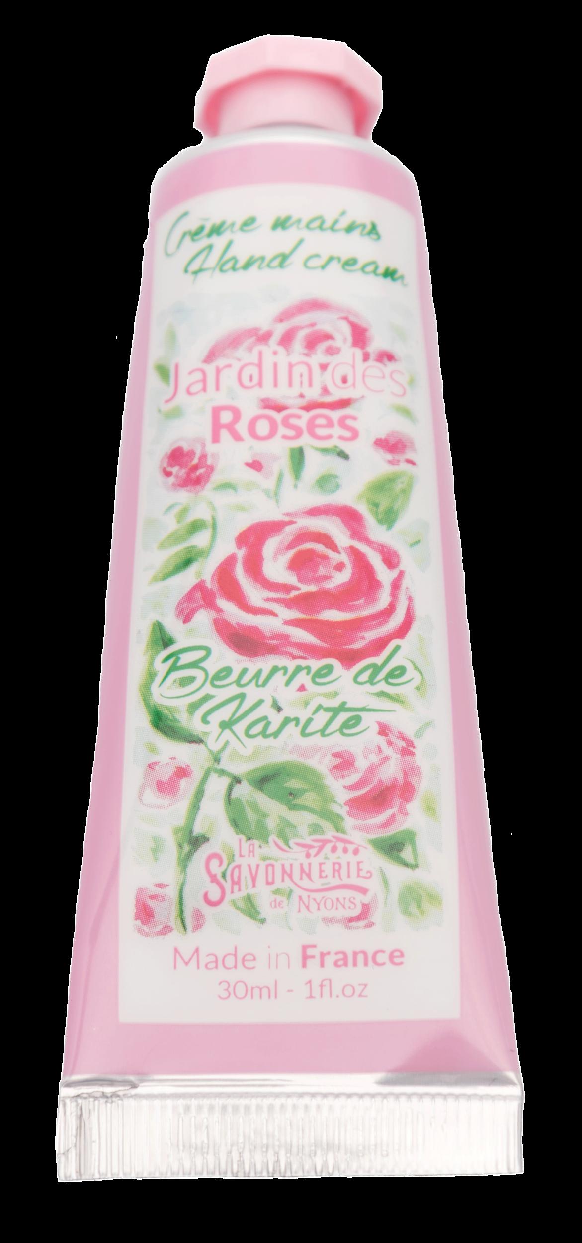 Crème Mains Aquarelle Jardin Des Roses