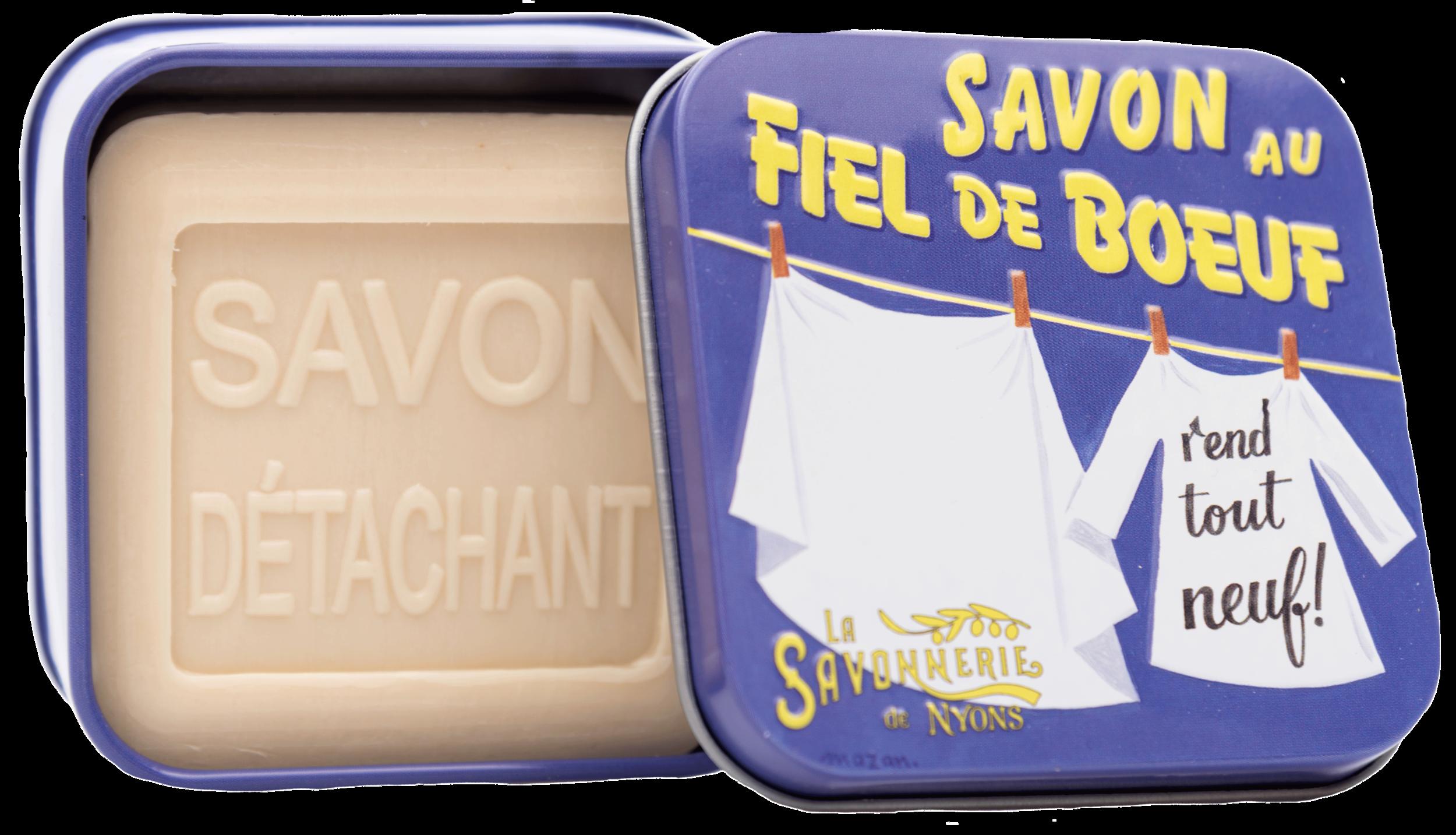 Boîte Métal & Savon Détachant 100 g