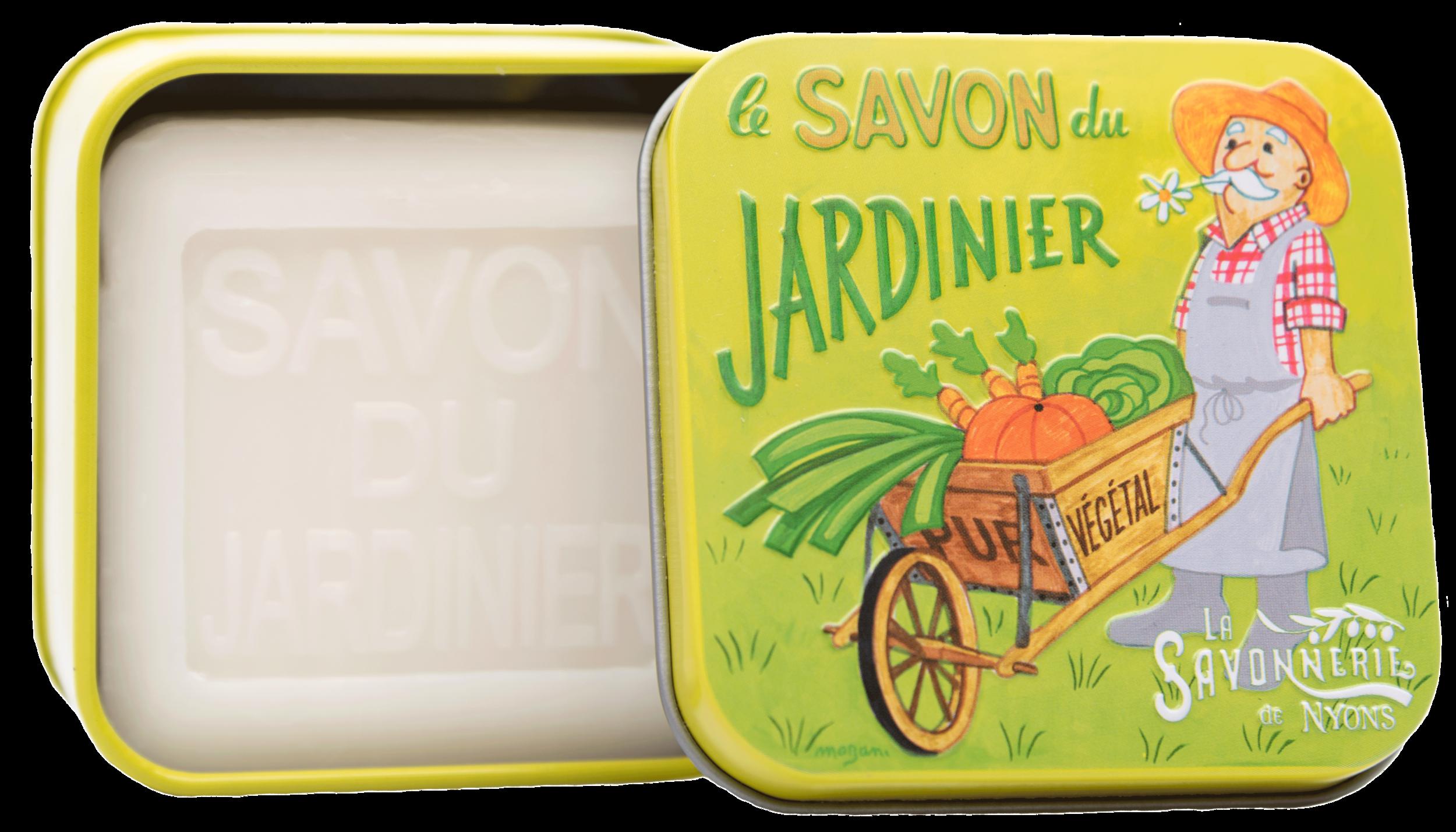 Boîte Métal & Savon du Jardinier 100 g