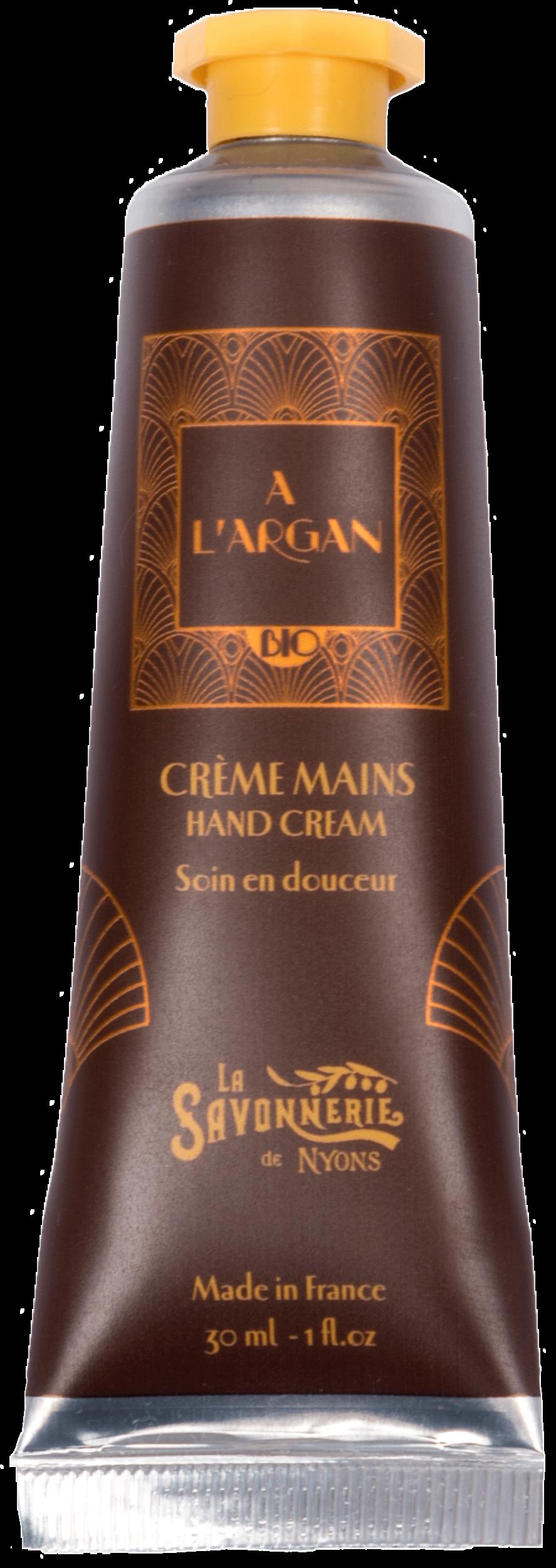 Crème Mains Huile d\'Argan BIO 30 ml
