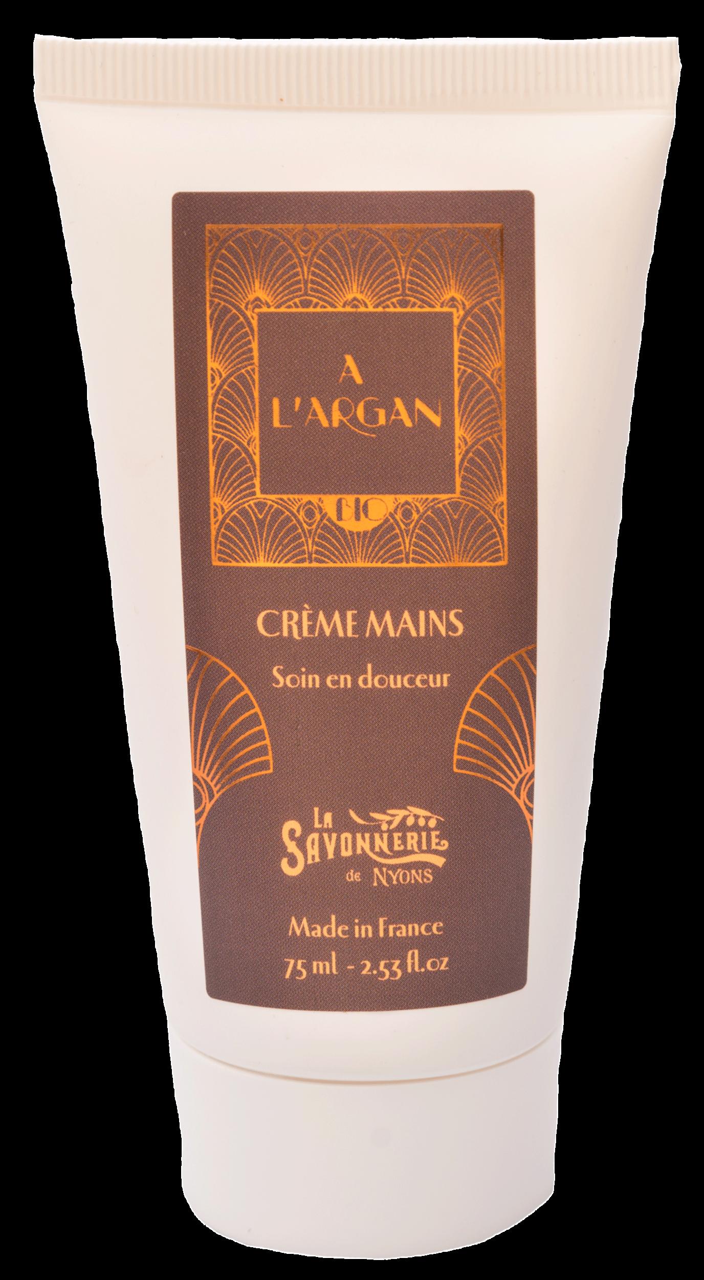 Crème Mains Huile d\'Argan BIO 75 ml