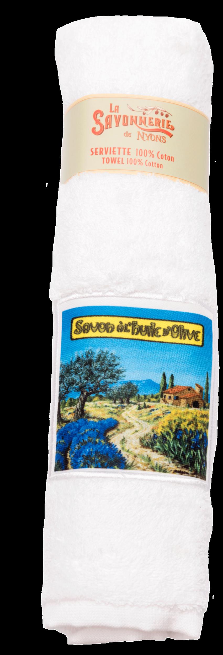 Serviette Paysage Provençal