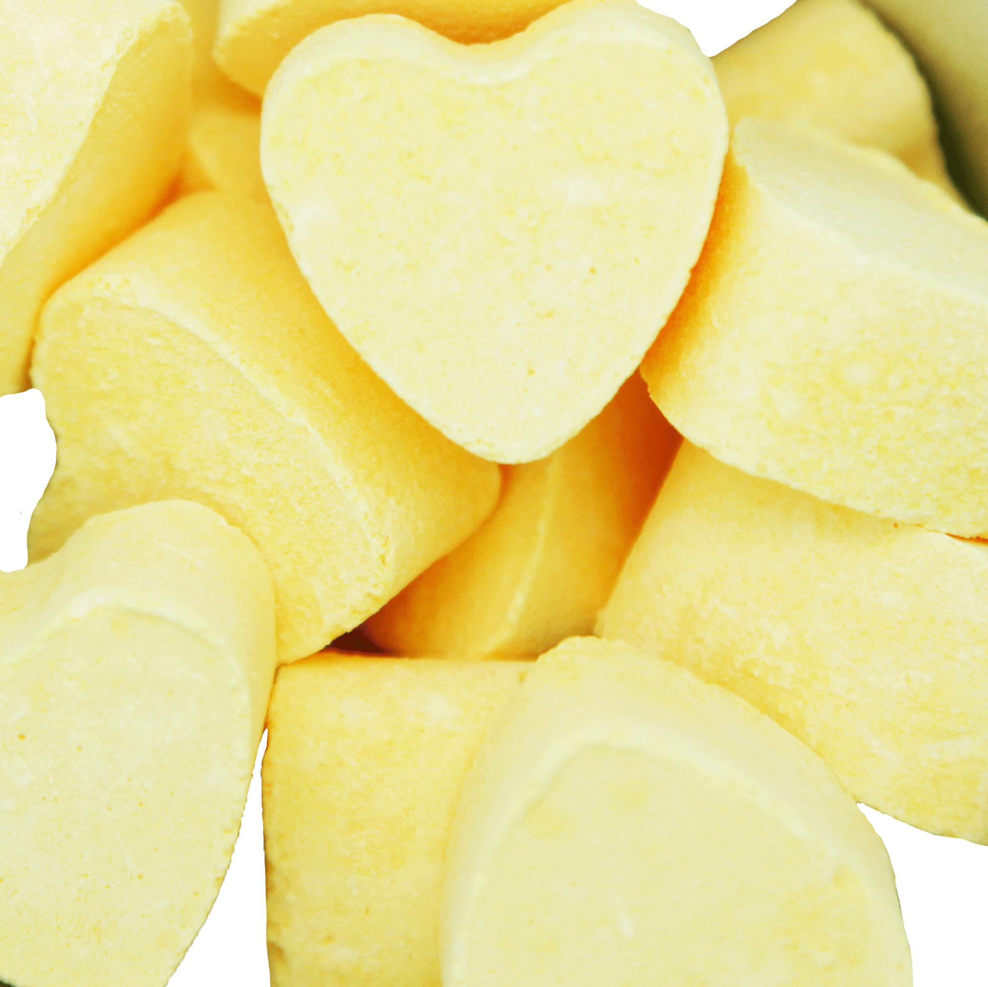Boule de Bain Cœur - Citron