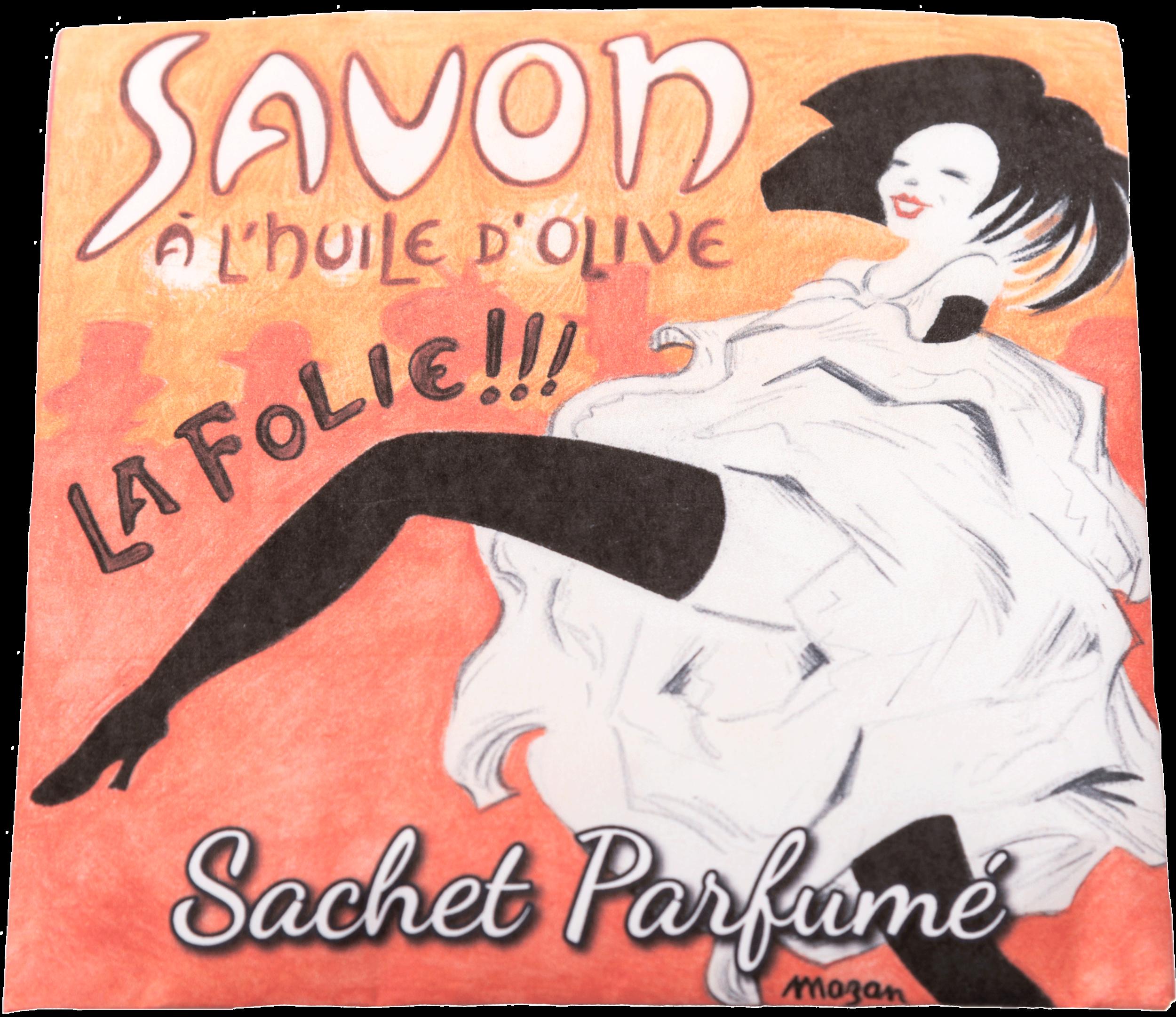 Sachet parfumé Paris La folie à la rose de mai