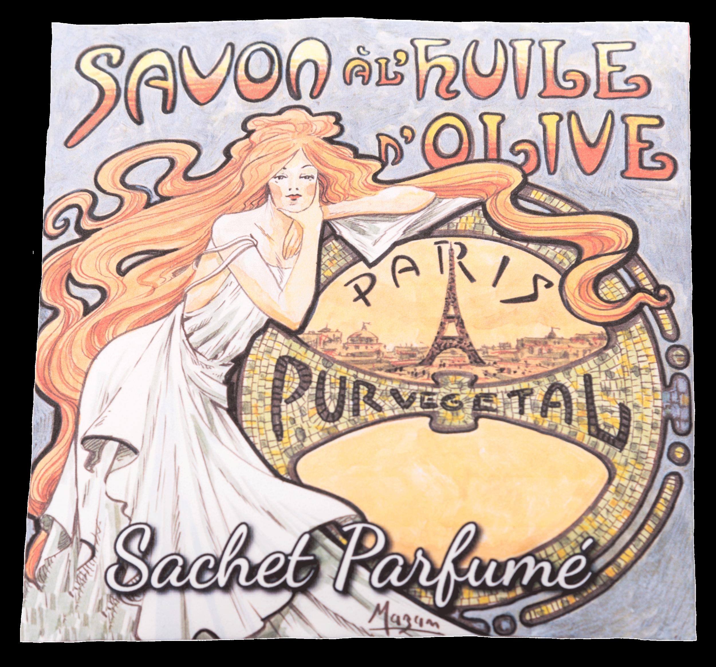 Sachet Parfumé Mucha 2 - Rose