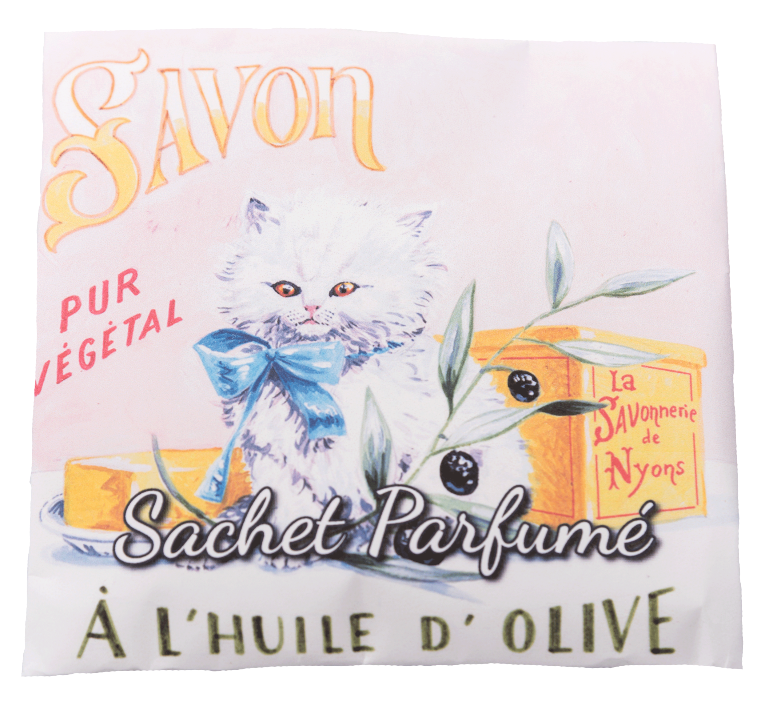 Sachet Parfumé Chat Persan - Senteur Angélique