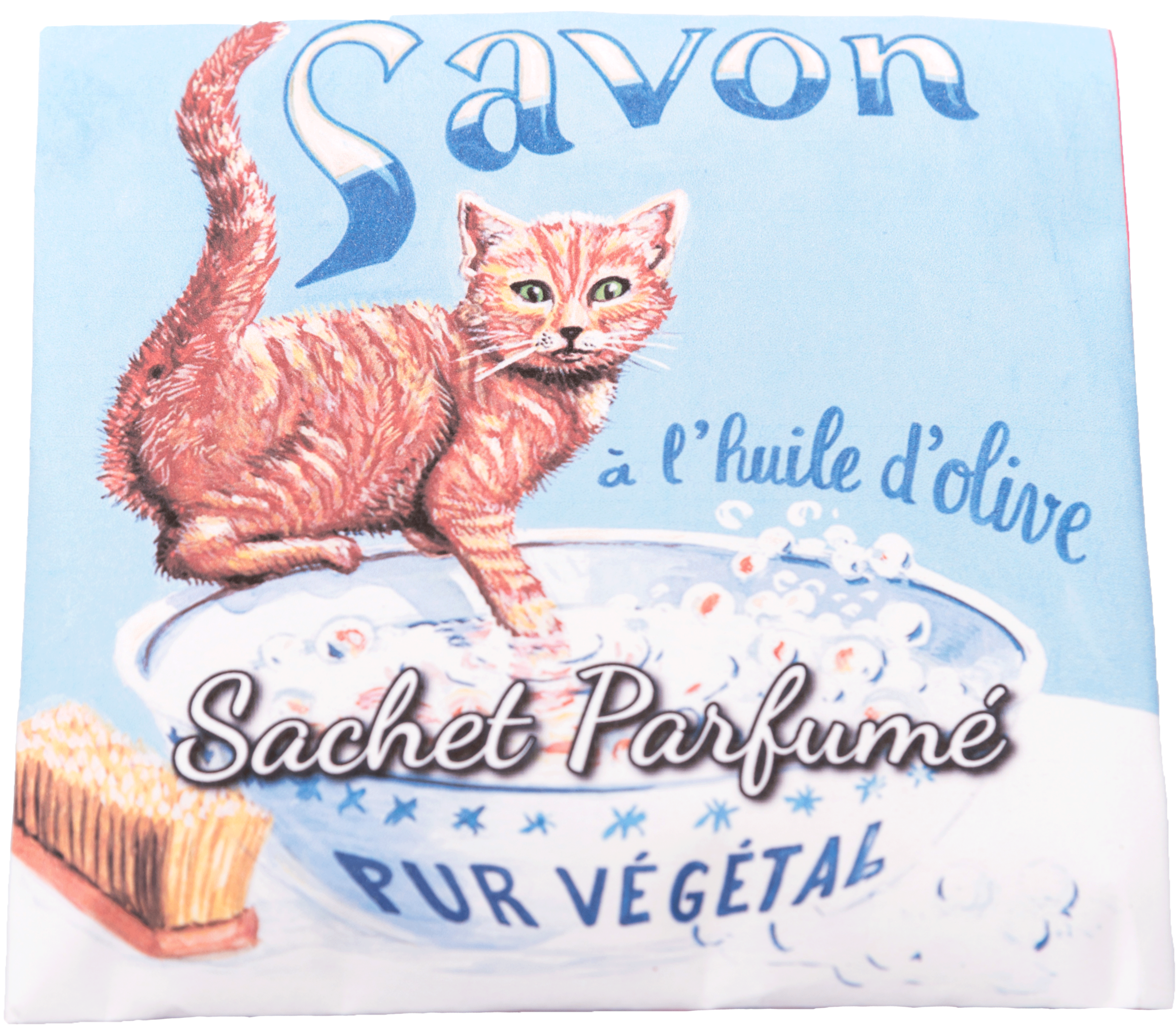 Sachet Parfumé Chat Roux - Senteur Angélique
