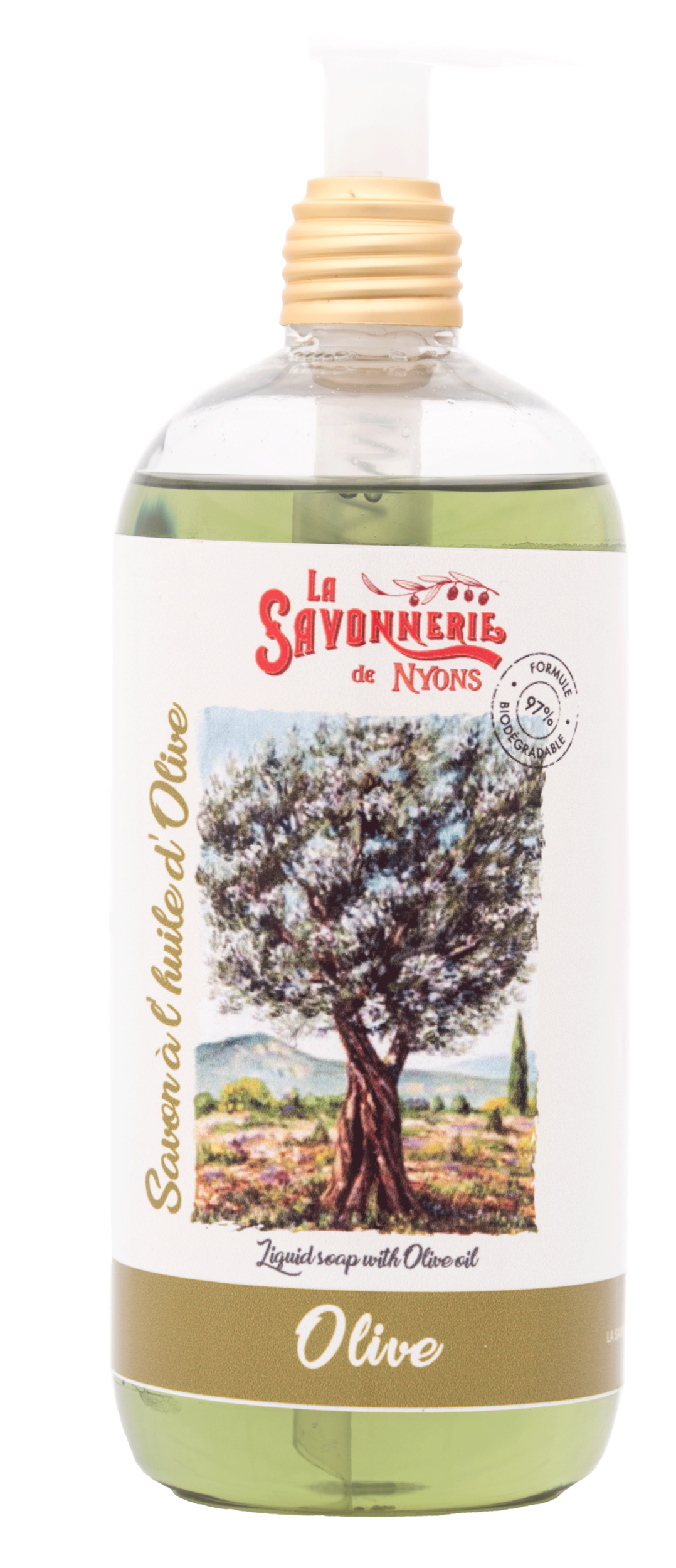 Savon liquide Olive