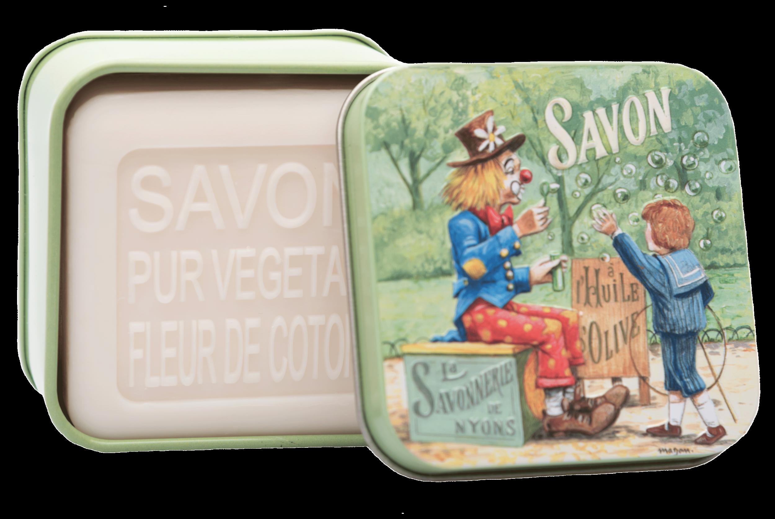 Boîte Métal Clown Enfant & Savon 100 g