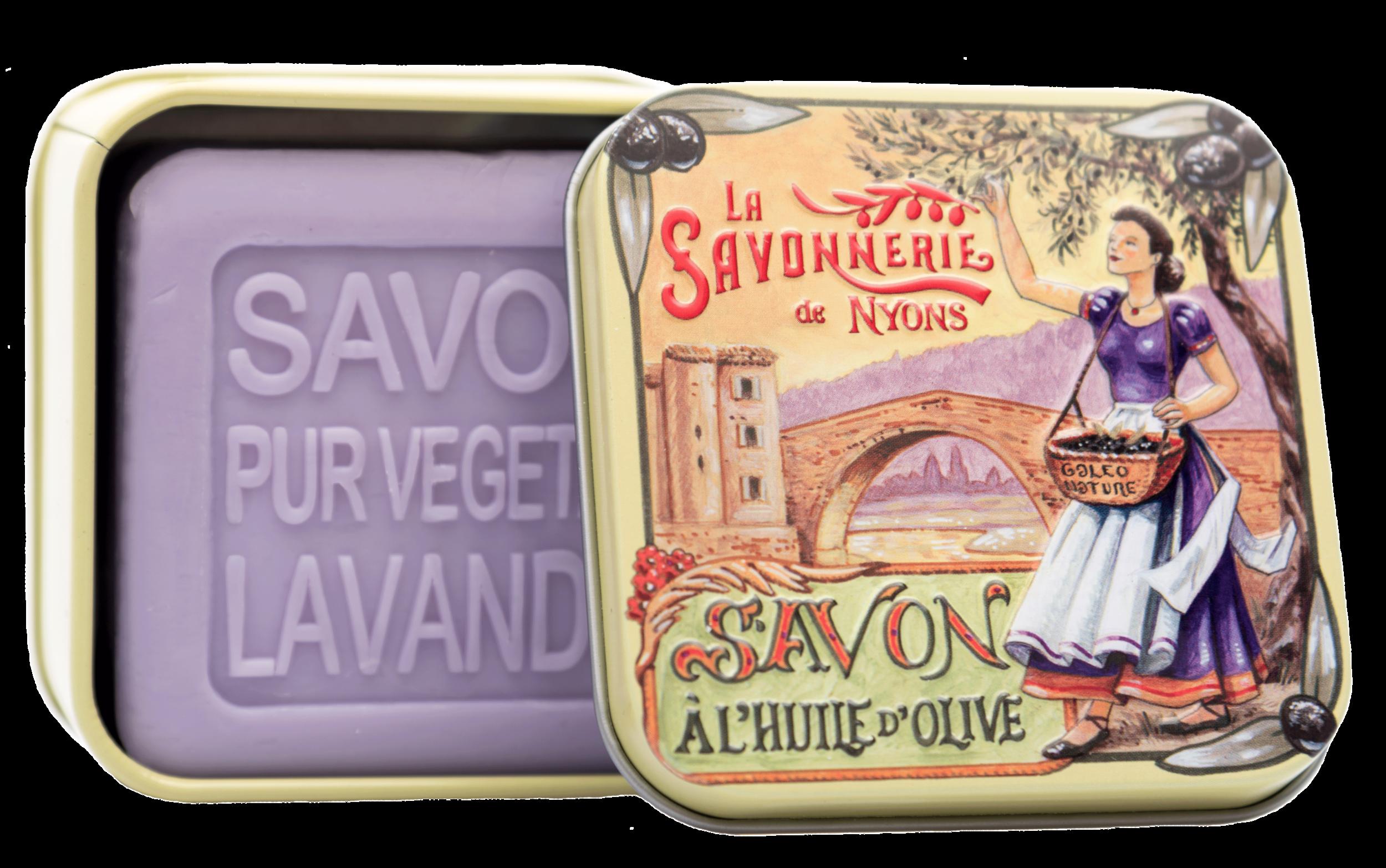 Boite Métal Pont & Savon 100 g