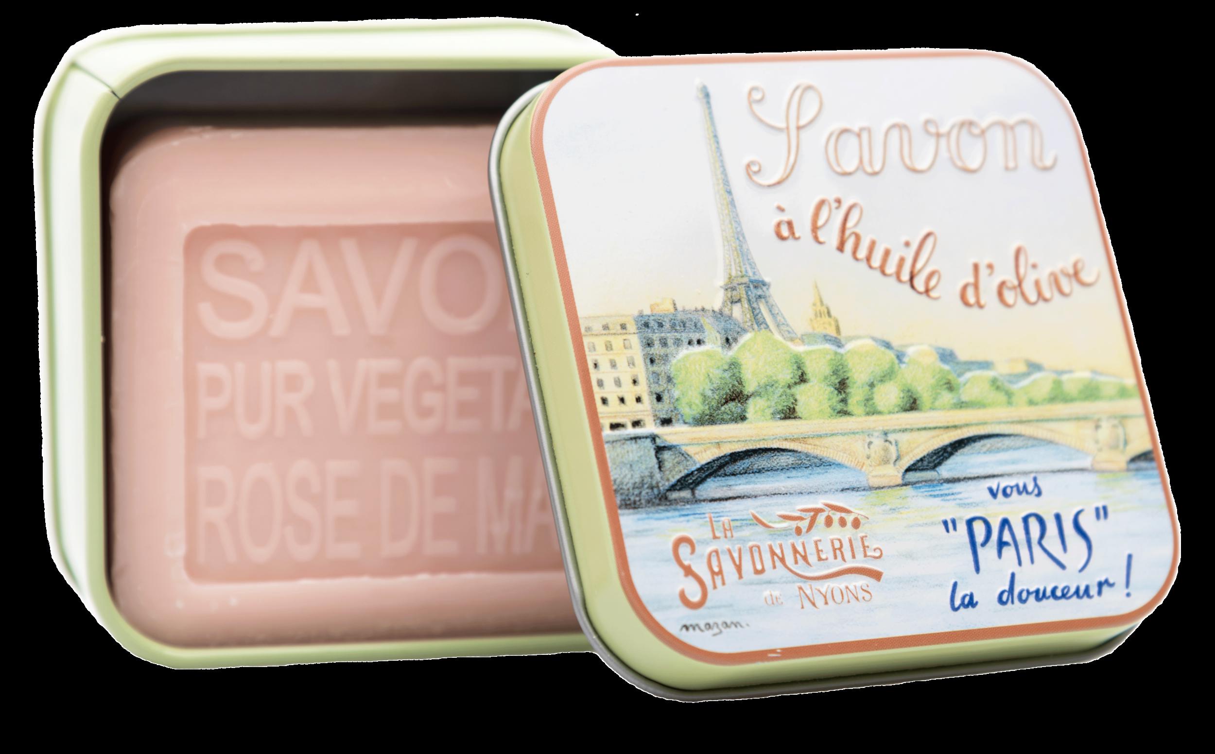 Boite Métal La Seine & Savon 100 g