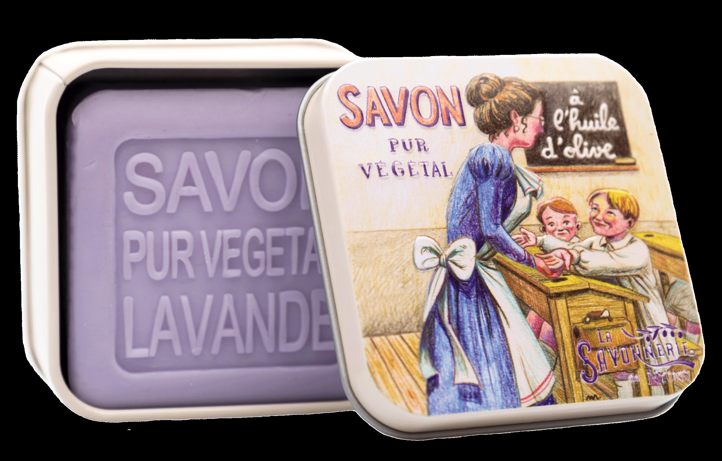 Boite Métal L\'école & Savon 100 g