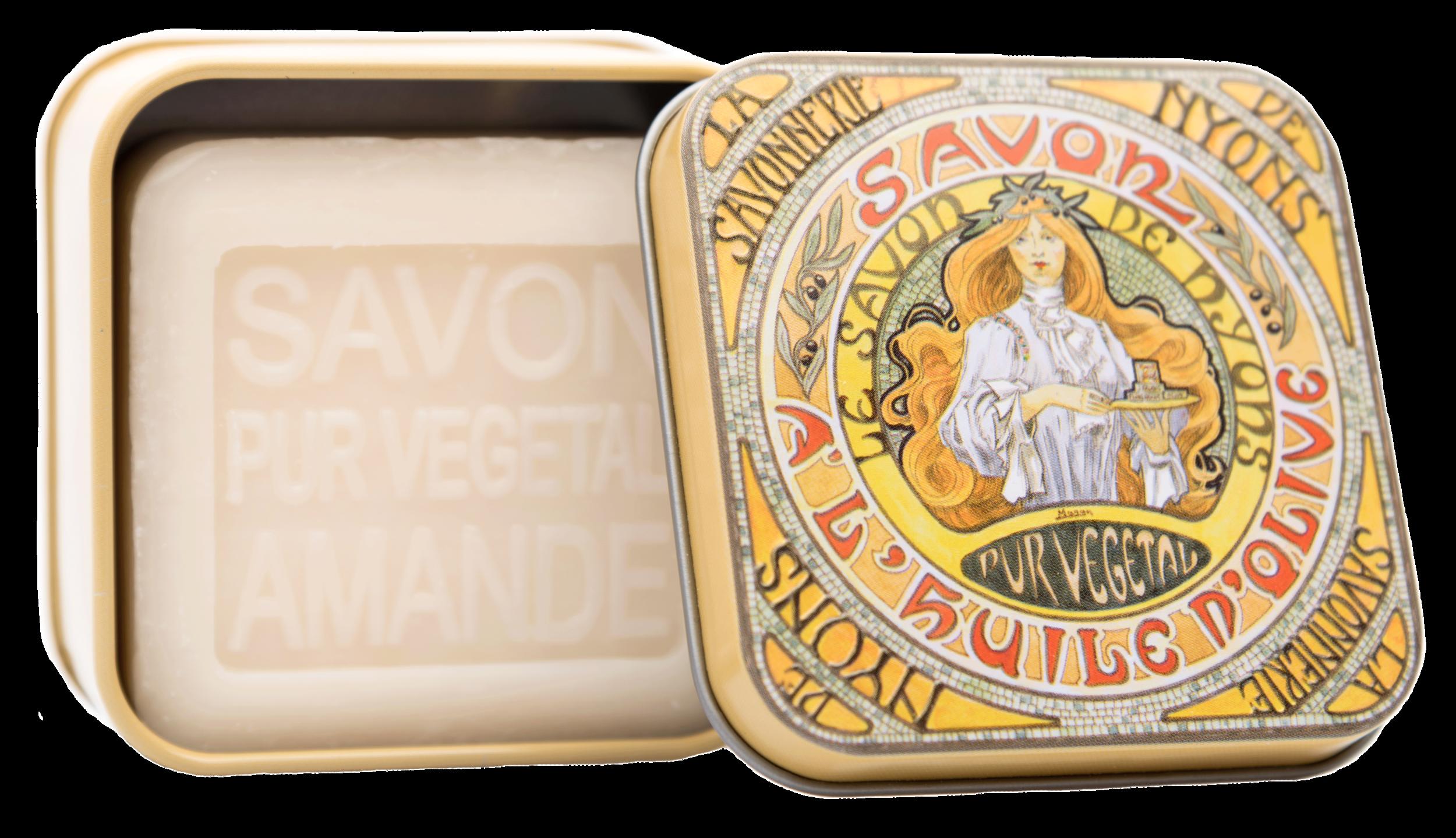 Boîte Métal Mucha 1 & Savon 100 g