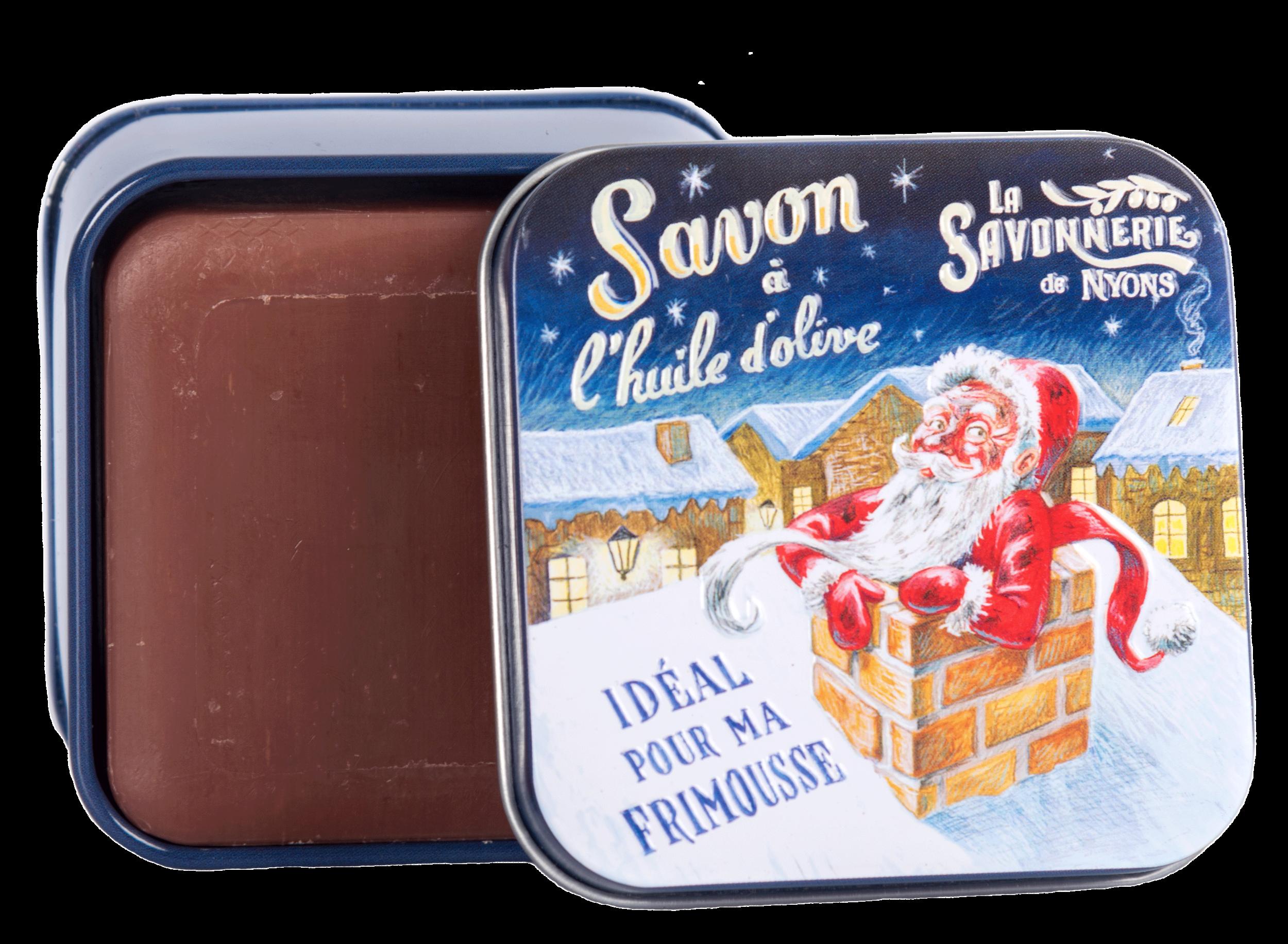 Boîte Métal Père Noël 2 & Savon 100 g