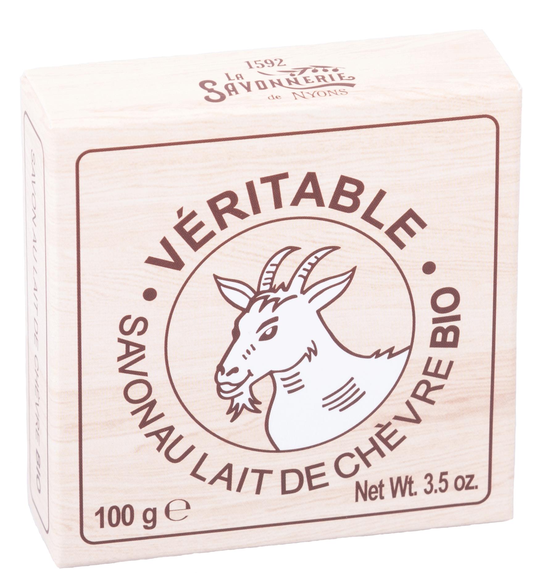 Savon Rond Lait de Chèvre BIO 100 g