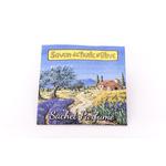Sachet parfumé Provence paysage à la lavande