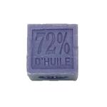 Cube savon de Marseille 100 g Lavande