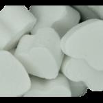Boule de Bain Cœur - Musc Blanc
