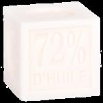 Cube savon de Marseille 100 g Coton