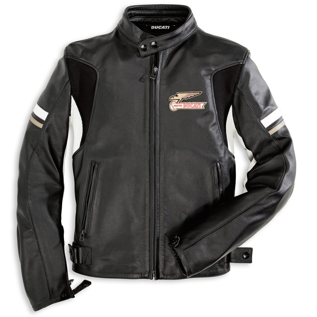 blouson de moto ducati manteaux populaires et branch s. Black Bedroom Furniture Sets. Home Design Ideas