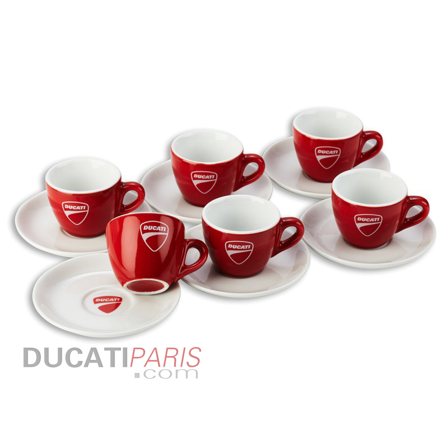 set de 6 tasses caf company 14 tasse service de tasse. Black Bedroom Furniture Sets. Home Design Ideas