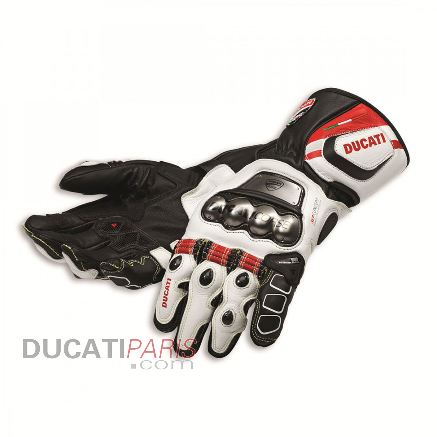 gants en cuir ducati corse c2 98103071. Black Bedroom Furniture Sets. Home Design Ideas