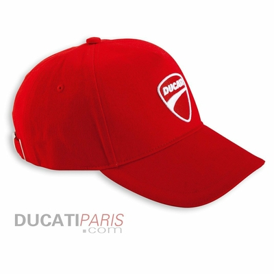 Casquette Ducati Company Rouge