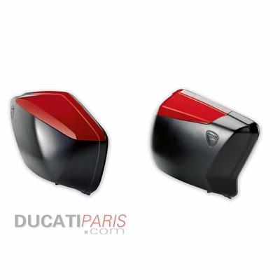 Paire de couvercles pour valise Noir Multistrada (58L)