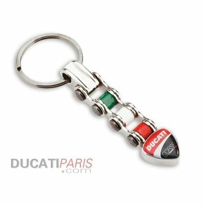 Porte-clé Ducati Corse Chain