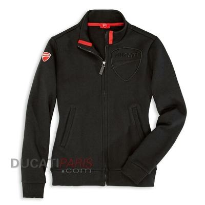 Sweat Ducati Company 12 noir pour Femme XL
