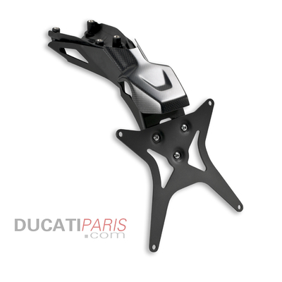 Support de plaque en carbone et alliage à base d'aluminium Superbike Panigale