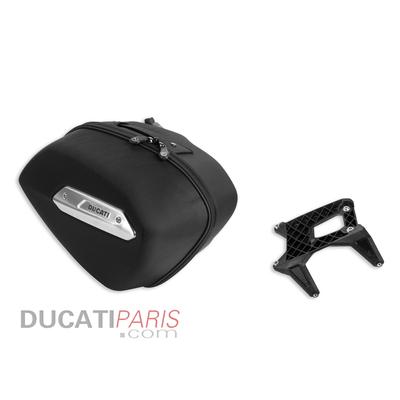 Kit valise latérale gauche Hypermotard
