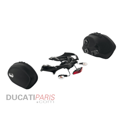 Ensemble de valises semi-rigides latérales Diavel