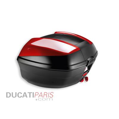 Kit top-case arrière Ducati Multistrada 48L Rouge