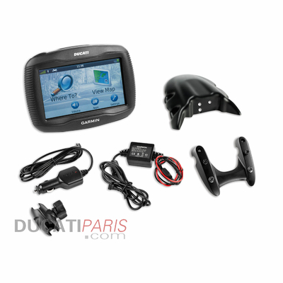 Kit navigateur satellitaire Ducati Zumo 390 Diavel