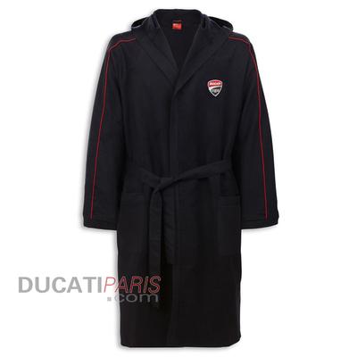 Peignoir de bain Ducati Corse 14 Noir